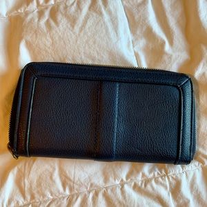 Navy blue wallet